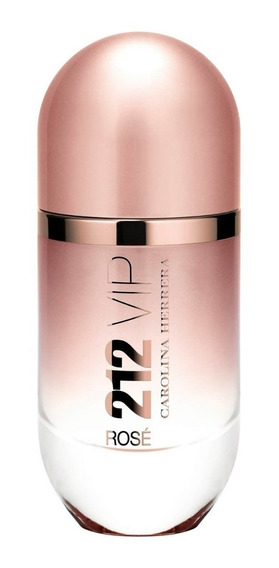 Perfume 212 Vip Rose Edp 125ml + Brinde - 100% Original