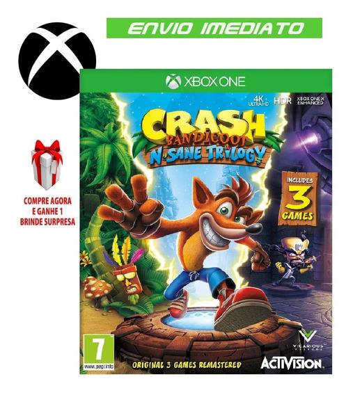 Crash Bandicoot Trilogy Xbox One Midia Digital On E Off