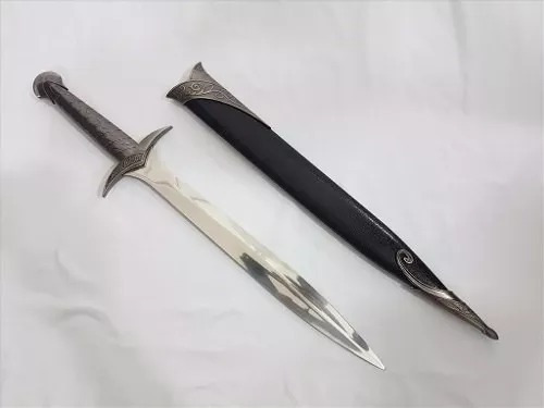 Espada Frodo Senhor Dos Aneis + Bainha + Suporte De Mesa