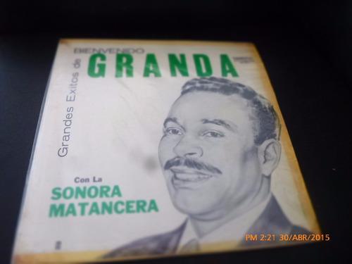 Vinilo Lp Bienvenido Granada Granada Con La Sonora M (u1260