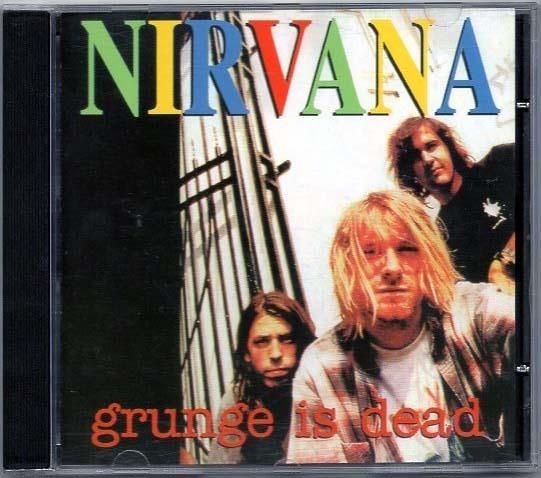 Cd Nirvana - Grunge Is Dead (alemao) Kurt Cobain Frete Grati