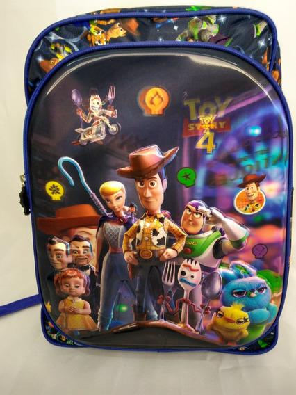 Mochila Escolar Infantil Menino Toy Story 3d Holográfico