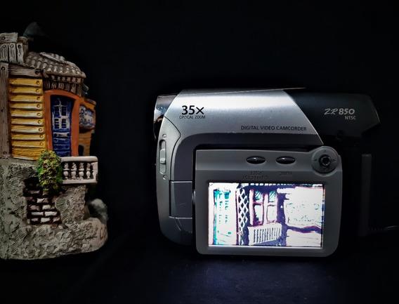 Camera Filmadora Canon Zr850 Minidv Ntsc
