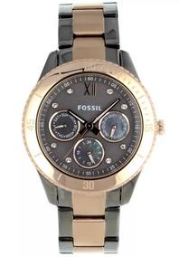 Relógio Fossil Feminino Multifuncional Es3100z