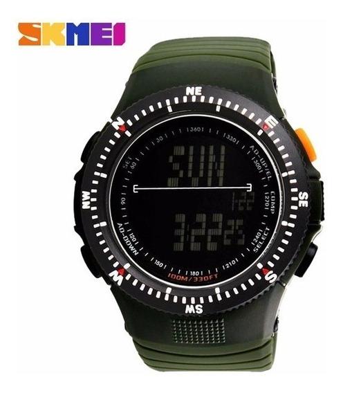 Reloj Skmei 0989 Táctico Militar Llavero Gratis + Caja