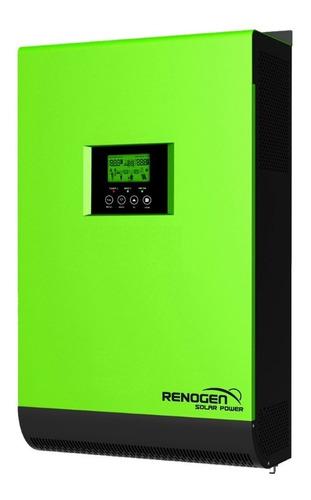 Inversor Hibrido Solar 5kw / 10kw 48v Reg Mppt 80a Renogen