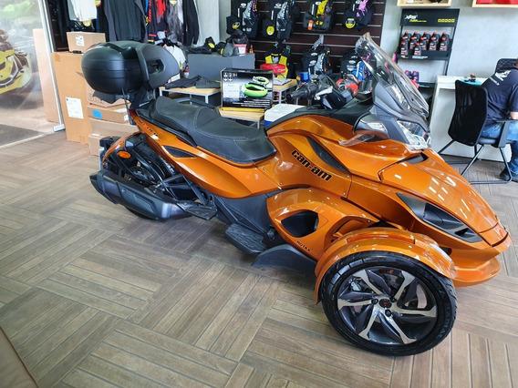 Triciclo Can-am Spyder St-s 2014 C/encosto Som E Baú