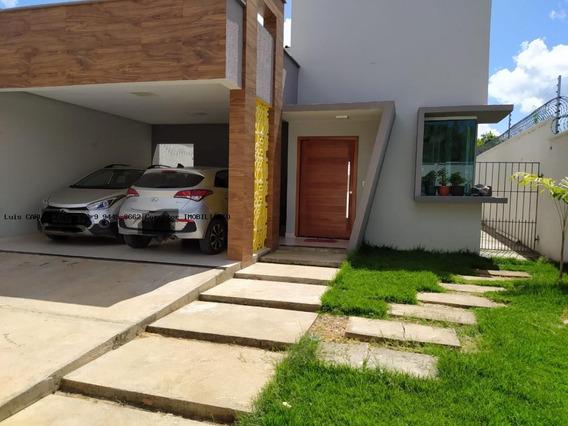 Casa 3 Dormitórios Para Venda Em Teresina, Jardim Do Vale/vale Quem Tem, 3 Dormitórios, 2 Suítes, 4 Banheiros, 4 Vagas - Casa Nova_2-860477