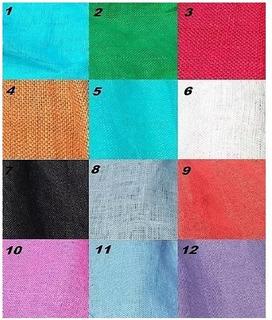 Tela 100% Lino Italiano 1.40 Mts. Ancho Variedad De Colores