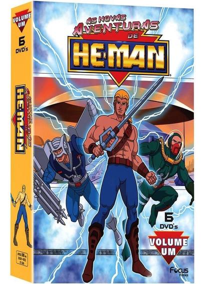 Dvd As Novas Aventuras De He Man Vol 1 (6 Dvds)