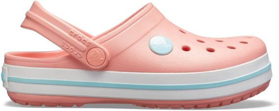 Crocs Originales P/niños Crocband Melon-ice Sku 204537-7h5
