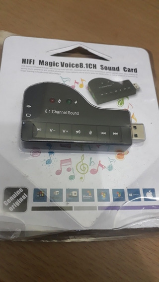 Placa De Áudio Hifi Magic Voice 8.1ch