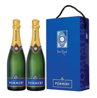 Champagne Pommery Brut Royal Twin Pack X2 Botellas - Francia