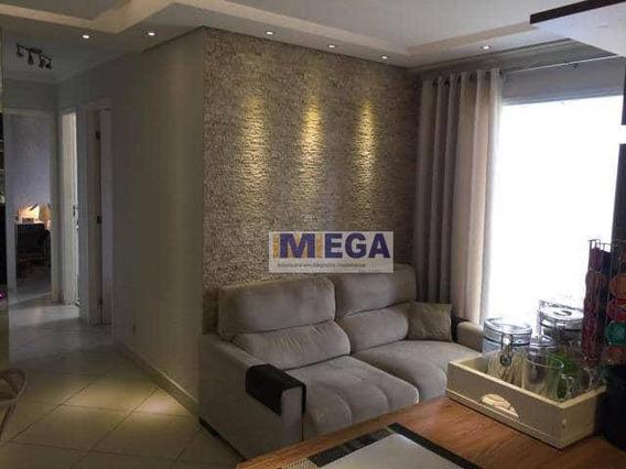 Apartamento Com 2 Dormitórios À Venda, 50 M² - Vila Industrial - Campinas/sp - Ap3968