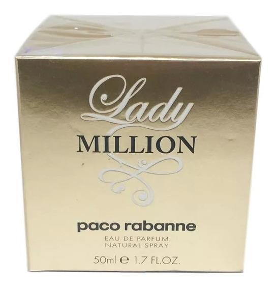 Perfume Lady Million Edp 50 Ml Produto 100% Original