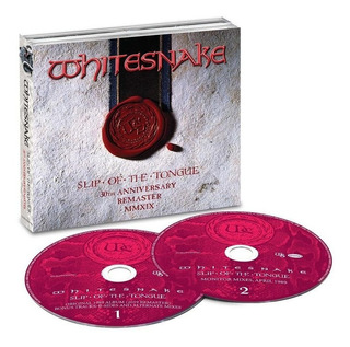 Whitesnake Slip Of The Tongue 2 Cd Nuevo Importado En Stock