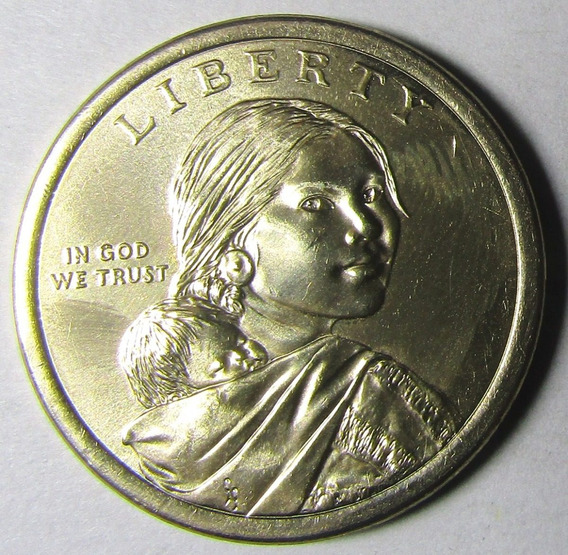 Usa Moneda 1 Dolar 2019 D Sacagawea Programa Espacial