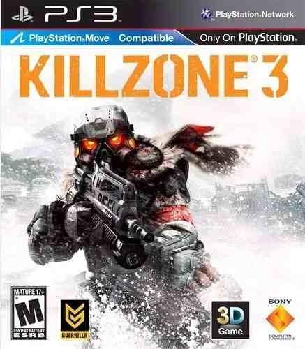 Jogo Ps3 Killzone 3- Novo E Lacrado