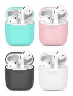 Apple Airpod Case Estojo De Silicone AirPods Escolha Cor