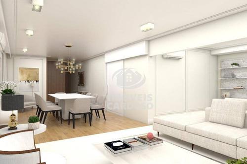 Imagem 1 de 10 de Apartamento Com 3 Dormitórios À Venda, 225 M² Por R$ 2.990 - Jardim Paulista - São Paulo/sp - Ap3412