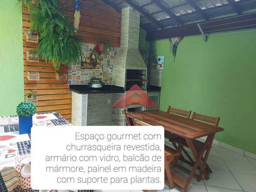 Casa Com 3 Dormitórios À Venda, 147 M² Por R$ 500.000,00 - Jardim Da Granja - São José Dos Campos/sp - Ca4589