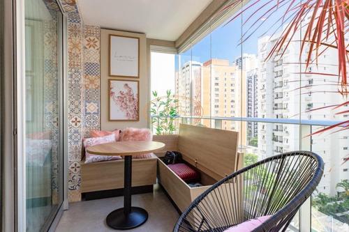 Apartamento  Com 1 Dormitório(s) Localizado(a) No Bairro Brooklin Em São Paulo / São Paulo  - 18802:927645