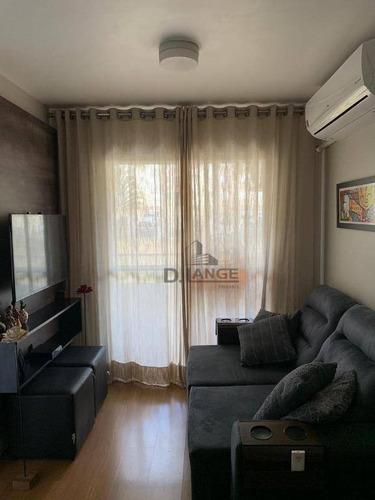 Imagem 1 de 23 de Apartamento Com 2 Dormitórios À Venda, 58 M² Por R$ 258.000,00 - Jardim Nova Europa - Campinas/sp - Ap18101