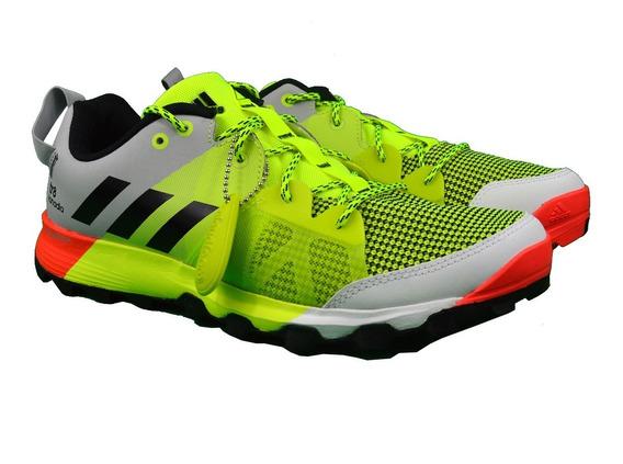 Tenis adidas Hombre Verdes Kanadia 8 Tr M Running Aq5846