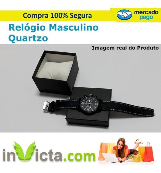 Relógio Masculino De Quartzo Presente Dia Dos Pais Mais Brid