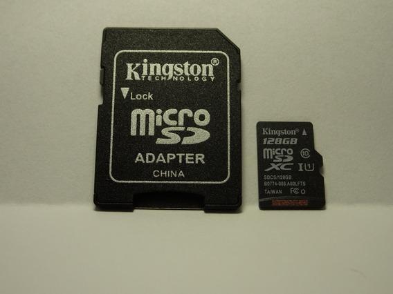 Cartão De Memoria Micro Sd Kingston 16gb Classe 10