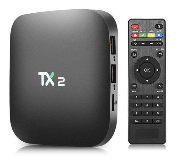 Streaming Media Player Tanix Tx2 16gb Ram 2gb Preto