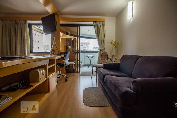 Apartamento Para Aluguel - Jardim Paulista, 1 Quarto, 32 - 893021715