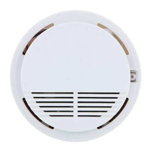 Alarme Fumaça Incêndio Sensor Detector Monitor Prontas Entre