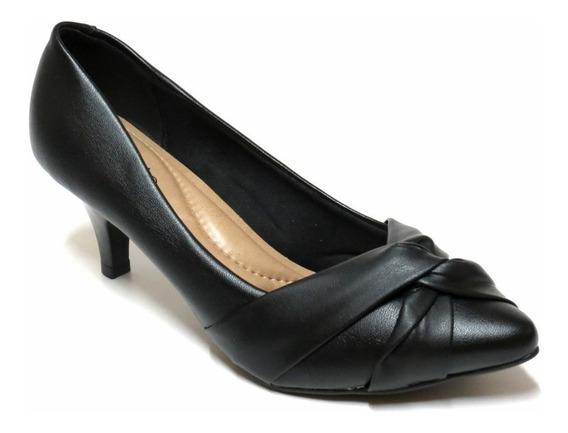 Zapatos Stilettos Mujer Beira Rio Cerrado Nudo 35/40 4076192