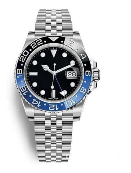 Relógio Rolex Gmt Automático Puleira Jubileu E Normal Safira