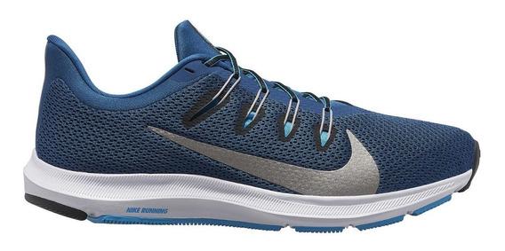 Tenis Nike Quest 2 Hombre Azul Ci3787-401