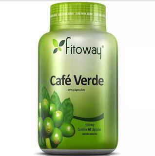 Café Verde 500mg - Fitoway - 60 Cápsulas