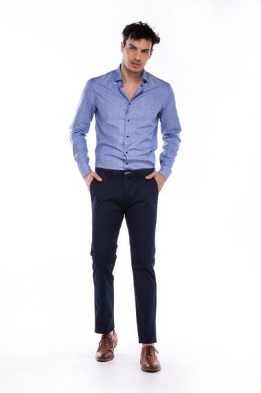 Pantalon Chino De Gabardina Dean, De Hombre, Daniel Hechter