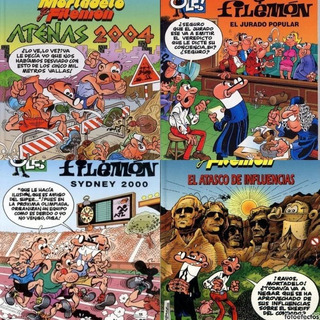 Mortadelo Y Filemon 4 Colecciones Digitales 400 Revistas