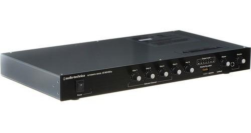 Audio-technica At-mx351a - Mixer Automático De 5 Canais