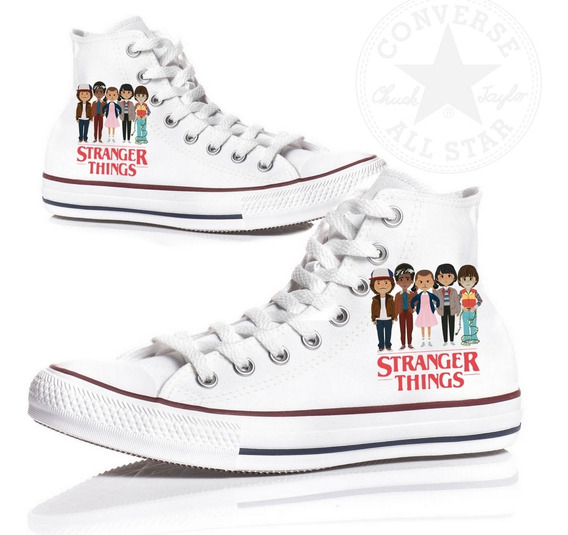 All Star Converse Stranger Things Tênis Mod 2 Unissex