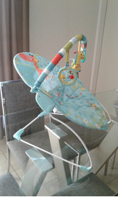 d5ee7eda8 Silla Mecedora Kiddy Usada - Sillas Mecedoras, Usado para Bebés al ...