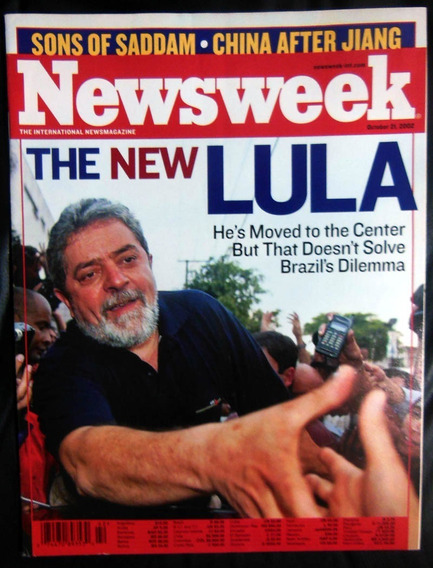 Revista Newsweek 42 The New Lula Saddam Hussein 21 Out 2002
