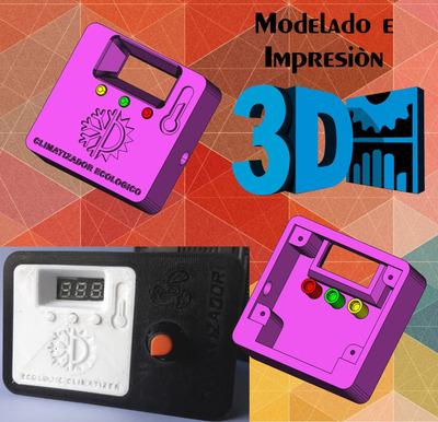 Modelado E Impresion 3d, Venta De Impresoras 3d...