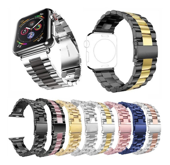 Correa Iwatch Acero Inoxidable 38mm 44mm Serie 1 2 3 4 Watch
