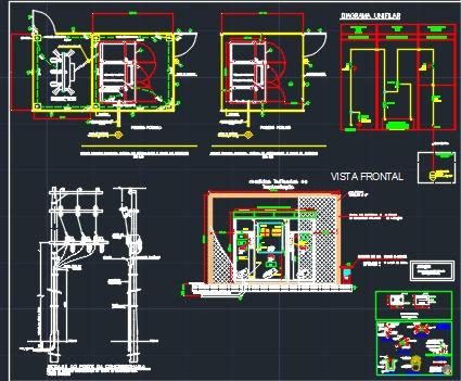 Imagem 1 de 3 de Projetos De Cabines Primaria Até 300 Kva