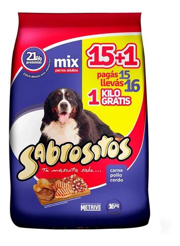 Imagen 1 de 2 de Sabrositos Mix Carne Pollo Y Cerdo 20k + 2k + Snacks