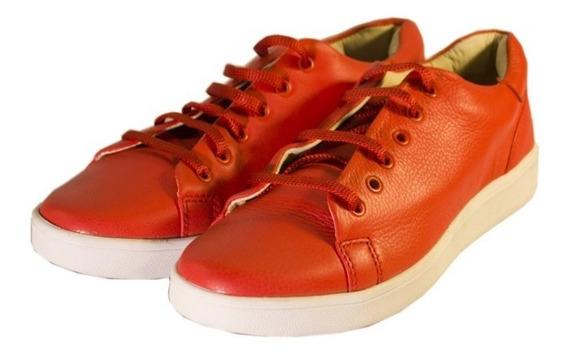 Zapatillas Rojas Urbanas Divinas 0034 Mujer Nuevos Oferta!!