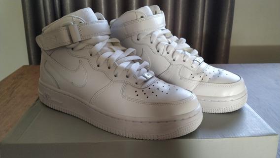 Nike Air Force 1 Mid Branco - 36
