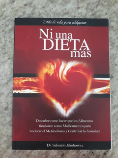 Libro Ni Una Dieta Mas